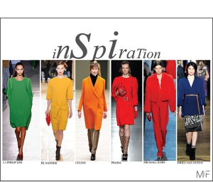 Color blocking Trend Fall 2011